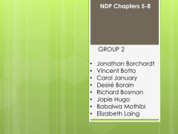 NDP - Introduction — SPL Short Courses