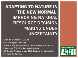 Adapting to Nature in the New Normal Improving natural