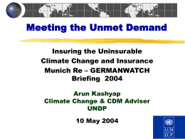 Meeting the Unmet Demand