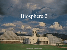 Biosphere 2 - Virginia Wesleyan College