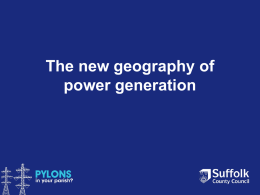 The new geography of power generation