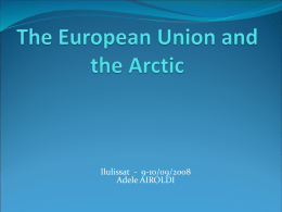 The European Union and the Arctic