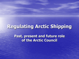Shipping in the Arctic