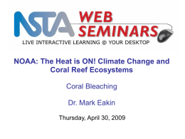 Coral Bleaching 101 - NSTA Learning Center