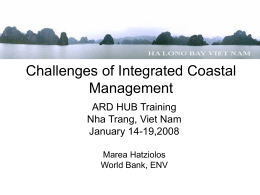 Challenges of ICM Ha Long Bay Case Study