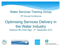 Francis_Finnerty. - Water Services Training Group