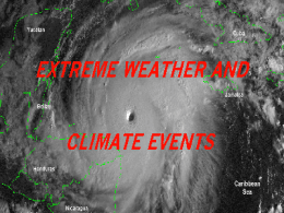 Global Warming Effects on Extreme Weathers