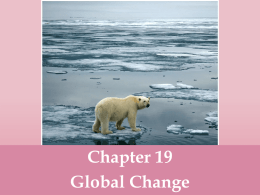 Ch 19 Climate Change powerpoint
