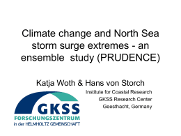 Climate change and North Sea storm surge extremes