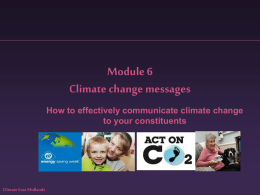 Messages | (ppt 3.5MB) - Climate East Midlands