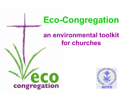 Eco-Congregation Action Plan