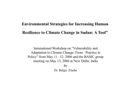 Environmental strategies for increasing human - BASIC