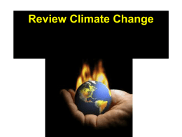 Review Climate Change