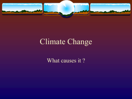Climate Change - Free Exam Papers