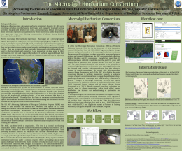 Macroalgal Project Overview Poster from NEAS 2014