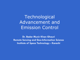Technological Advancement and Emission Control