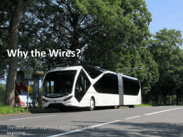 Why the Wires? - Trolleybus UK