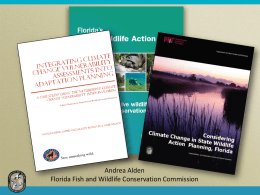 Revising the Florida Wildlife Action Plan