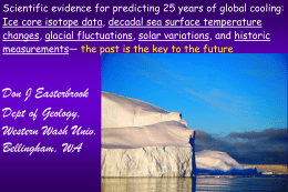 PowerPoint - Climate Conferences