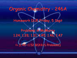 PowerPoint Presentation - Valence Bond Theory Structure