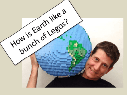 How is Earth like a box of Legos?