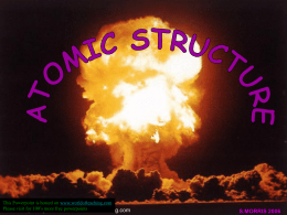Atomic structure - World of Teaching