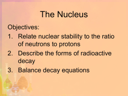 The Nucleus - Madison Public Schools