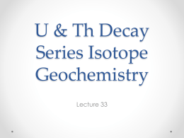Lecture 33 - Earth and Atmospheric Sciences