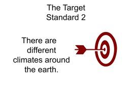 The Target Standard 2