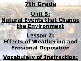 4. Chemical Weathering