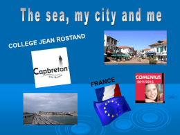 Capbreton, France - The sea, my city and me