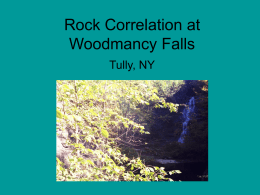 Kirk Dornton`s PowerPoint on Rock Correlation