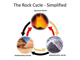 The Rock Cycle - Simplified