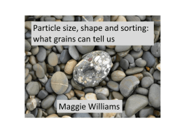 Powerpoint: What grains can tell us