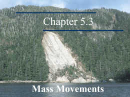 Mass Movements - rstepneysciencekhs