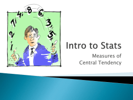 Intro to Stats - Heather Lench, Ph.D.