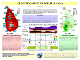climate calendar - Foundation for Environment, Climate and