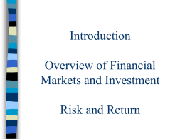 Investment Management Process p2ch1
