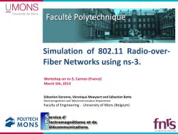 Vehicular Communication Simulations with NS-3   studyslide com