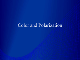 Color and Polarization