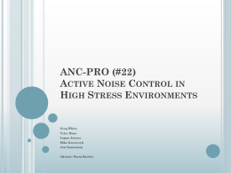 Active Noise Control System
