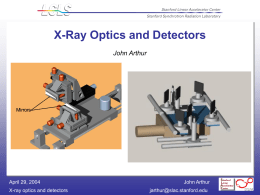 X-Ray Prototype Optics Specification