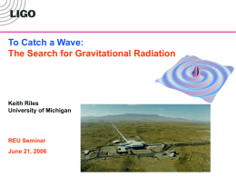 LIGO - University of Michigan