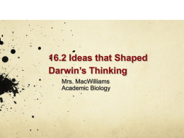 NOTES 2 Ideas Shaped Darwin ch 16_2
