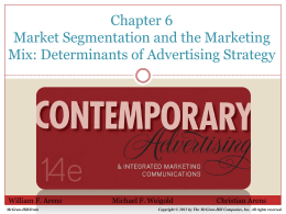 Chapter 6 Advertising