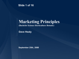 marketing principle Principles of marketing marketing mix comprises the marketing elements and the role played by each element in order to promote the product or the service till its delivery to the existing or potential customers the elements of marketing mix comprise of marketing's 5ps.