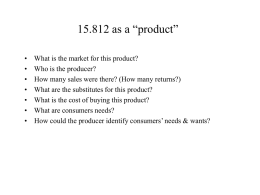 "15.812 as a ""product""?"