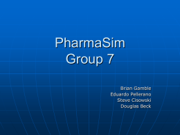 Pharmasim Group 7