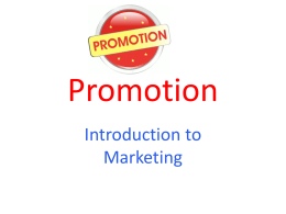 Promotion - Mrs. Radlick`s Website