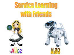 Service-Learning Component in CSCI 152